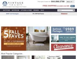 Vintage Tub Coupon Codes 2018