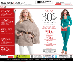 New York and Company Coupons 2018