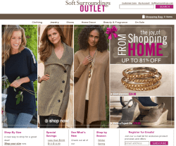 Soft Surroundings Outlet Promo Codes 2018