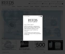 Reeds Coupon 2018
