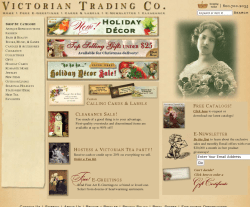 Victorian Trading Co Coupons 2018