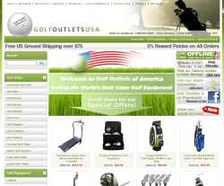 Golf Outlets USA Coupon 2018