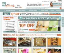 The Shelving Store Coupon 2018