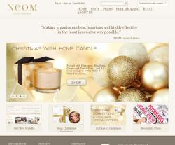 NEOM Luxury Organics Discount Codes 2018