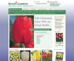 Dutch Gardens Coupon 2018