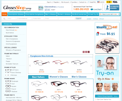 Glasses Shop Coupon 2018