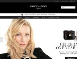 Giorgio Armani Beauty US Promo Codes 2018