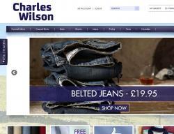 Charles Wilson Discount Code 2018