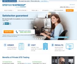 STD Test Express Coupon 2018