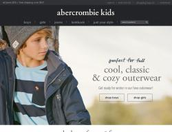 Abercrombie Kids UK Discount Code 2018
