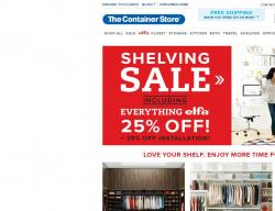 The Container Store Coupons 2018