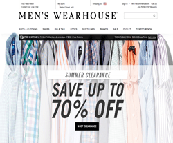 Men's Wearhouse Coupons 2018
