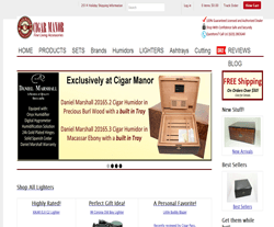 Cigar Manor Promo Codes 2018