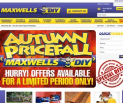 Maxwells DIY Discount Code 2018