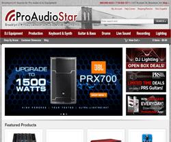 ProAudioStar Coupon 2018
