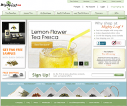 Mighty Leaf Tea Canada Promo Codes 2018