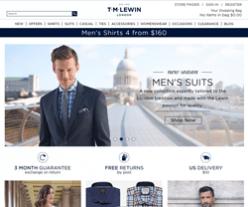 TM Lewin Discount Codes 2018