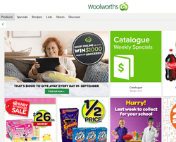 Woolworths Coupons 2018