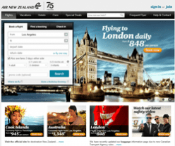 Air New Zealand Promo Codes 2018