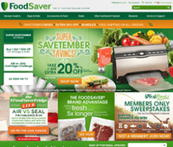 FoodSaver Promo Codes 2018