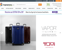 Luggage Pros Promo Codes 2018