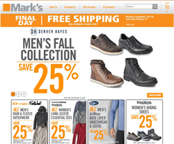 Marks Coupons 2018