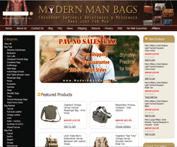 Modern Man Bags Coupon 2018