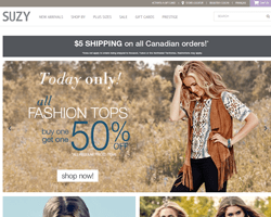 Suzy Shier Coupons 2018