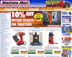 Machine Mart Discount Code 2018