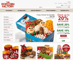 The Popcorn Factory Coupon 2018