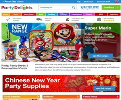 Party Delights Promo Codes 2018