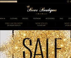 Bows Boutique Discount Code 2018