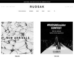 RUDSAK Promo Codes 2018