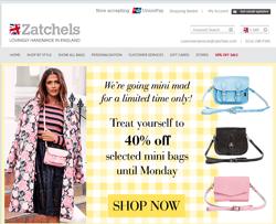 Zatchels Discount Code 2018