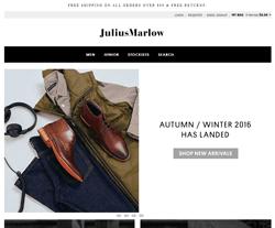 Julius Marlow Promo Codes & Coupons 2018