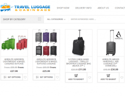 Travel Luggage & Cabin Bags Discount Code 2018