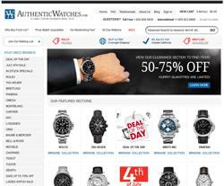 Authentic Watches Promo Code 2018