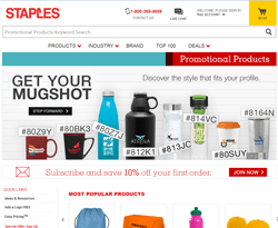Staples Promotional Products Coupons 2018