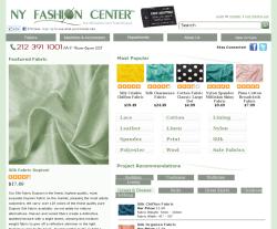 NY Fashion Center Fabrics Coupon 2018