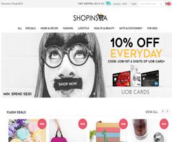 ShopInSEA Promo Codes 2018