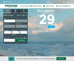 Frontier Airlines Promo Codes 2018