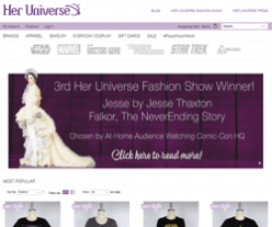 Her Universe Coupon & Promo Code 2018