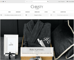 Christy Towels Discount Code 2018