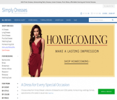 Simply Dresses Coupons 2018