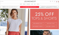JeansWest Promo Code 2018