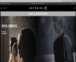 Antonioli Coupons 2018