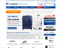 Luggage Superstore Discount Code 2018