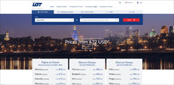 LOT Polish Airlines Promo Codes 2018
