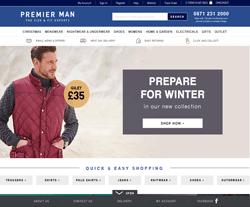Premier Man Discount Codes 2018