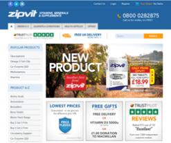 ZipVit Discount Codes 2018